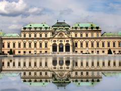 Blevedere Palace, Vienna - A famouse sightseeing place